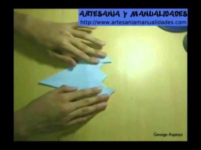 Origami Como hacer un Alacrán o Escorpión
