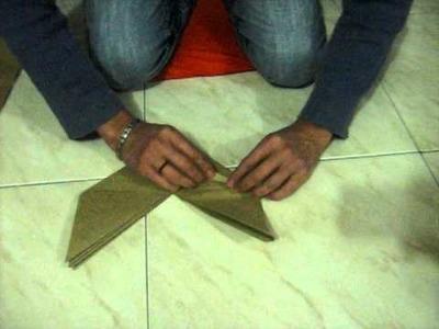 Origami con cheo gorro de gato