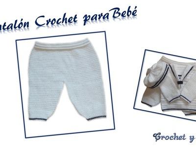 Pantalón Crochet para Bebé
