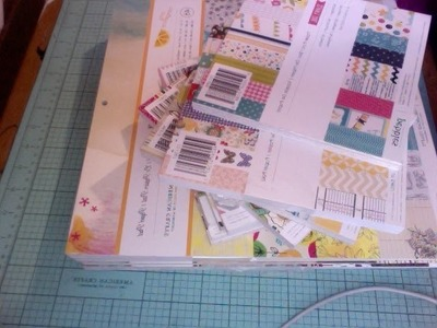 Papel hermoso!    Parte 1 Para Scrapbook y paper crafting Pads 6x6