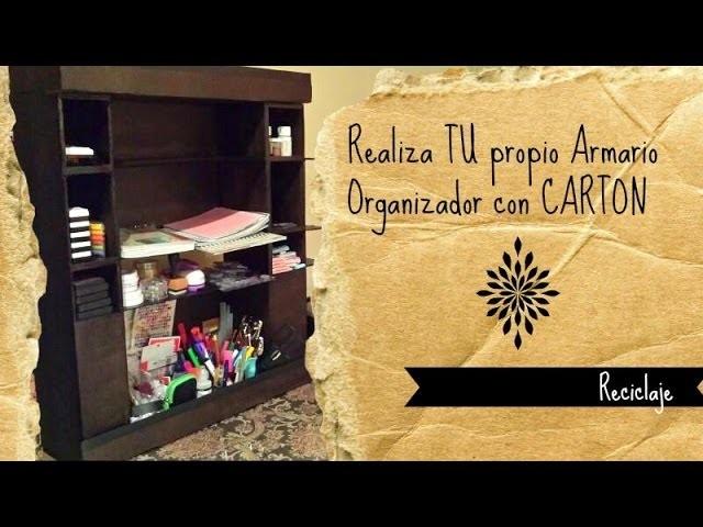 Proyecto Caja Organizadora de materiales Scrapbook