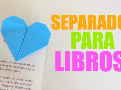 Separador de libros {CORAZÓN + ORIGAMI}. BackTwoSchool