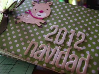 Taller Mini Album Navidad Scrapbook