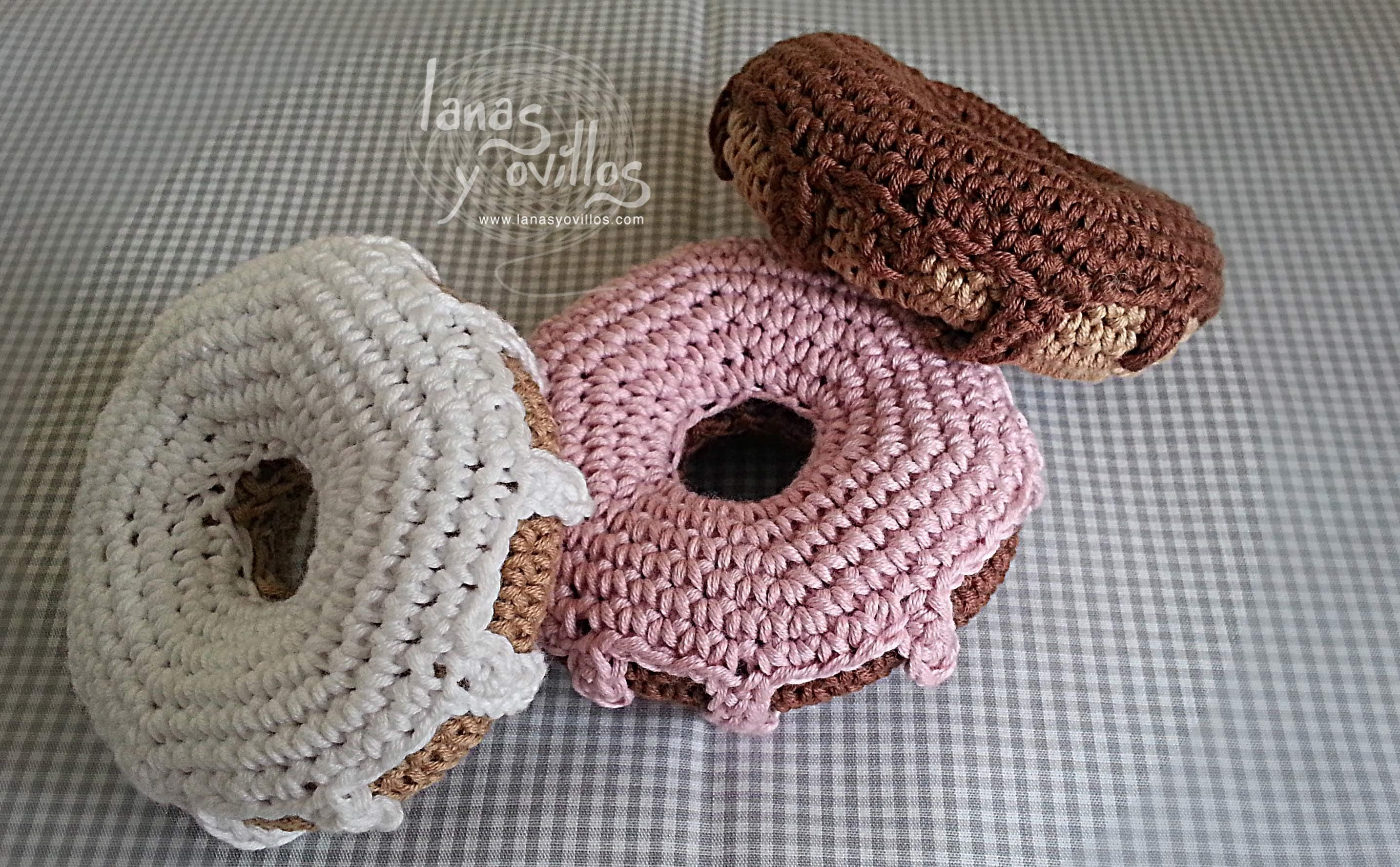 Tutorial Donut Crochet o Ganchillo Doughnut