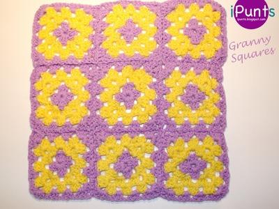 Tutorial Granny Square paso a paso (crochet)