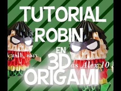 3D ORIGAMI ROBIN FÁCIL Y RÁPIDO [TUTORIAL EN ESPAÑOL] - Alex Avila