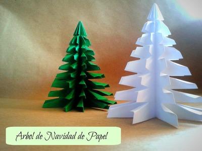 Árbol de Navidad - Manualidades | Ani Crafts