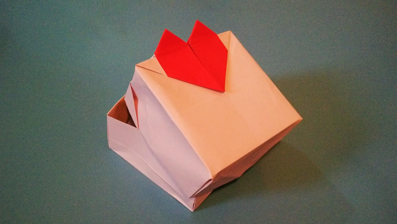 Caja Corazón Origami - Heart Box - Valentine's day