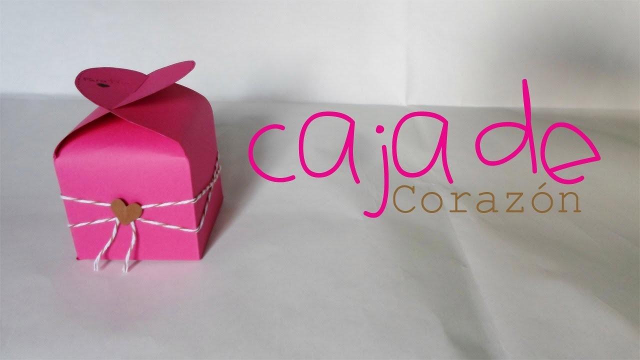 Caja de corazón || Paper Crafting || (San Valentin)