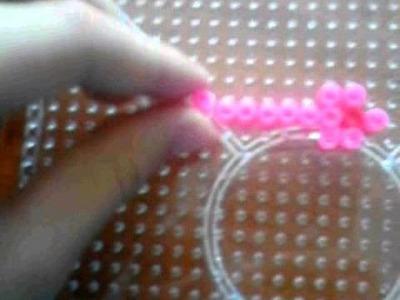 ♡Candadito y llaves de Hama Beads ♡