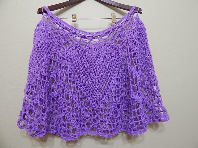 Capa Cuatro Piñas Crochet 2 de 2