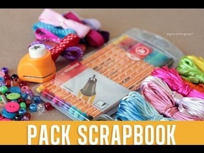 [CERRADO] Gana el PACK SCRAPBOOK - Concurso másCG de Craftingeek*