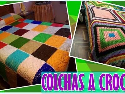 Colchas y Cubre Camas Tejidos a Crochet