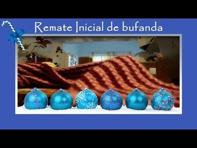 Cómo hacer: Remate inicial de bufanda en telar rectangular