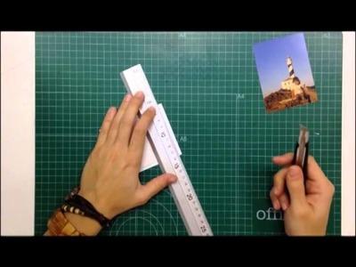 Cómo hacer tus marcos polaroid sin troqueles - TUTORIAL Scrapbook