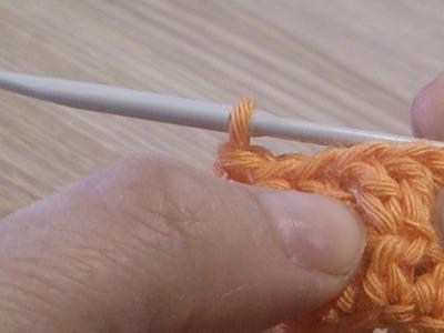 ¿Cómo hacer un aumento en crochet?