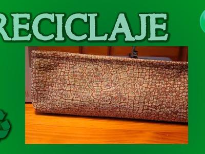 Como hacer un neceser | DIY | Tutorial | Reciclaje |