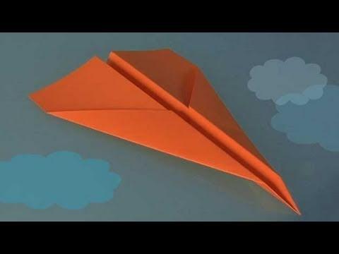 Cómo hacer una avión de papel