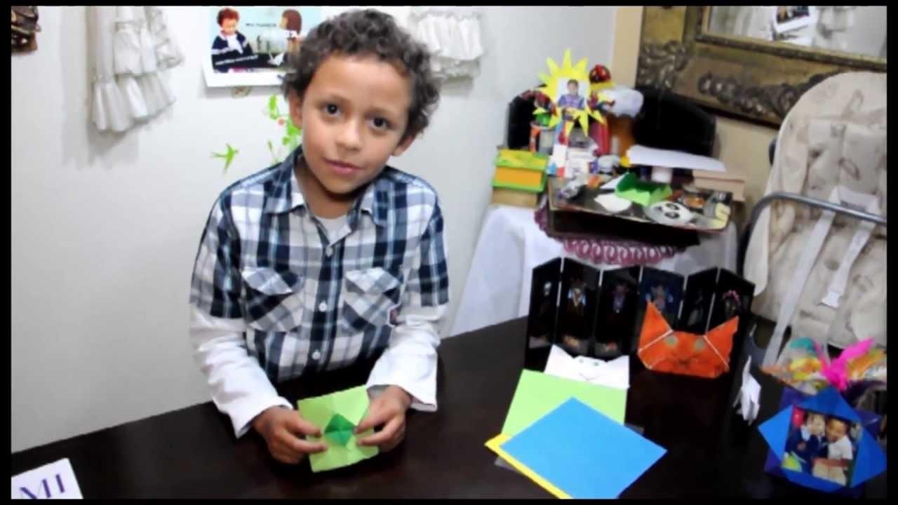 Cómo hacer una Gift Card de papel. Origami