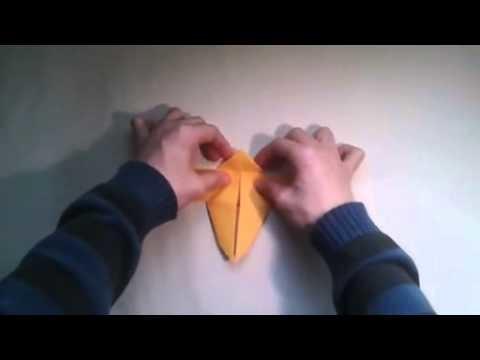 Como hacer una mariposa de origami facil   [Origami - Papiroflexia]