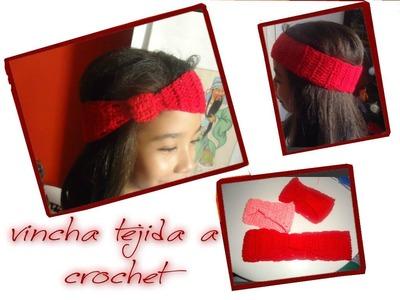 *Como tejer Vincha o Banda a Crochet*