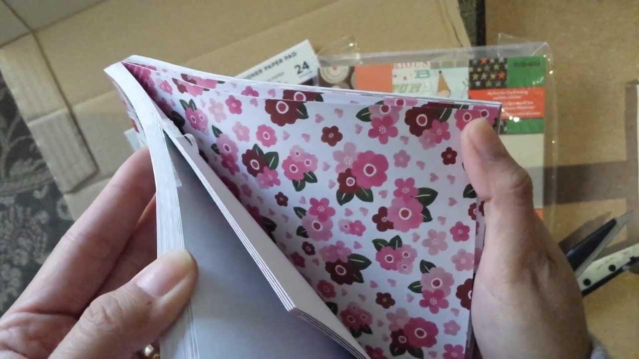 Compras scrapbook!!!