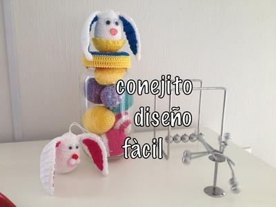 #Conejo #Orejas Diseño Fácil punto alto #Ganchillo #Crochet