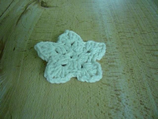 Crochet. Estrella de Navidad