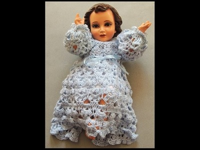 Crochet : Niño Jesus. Canesú.  Parte 2 de 2