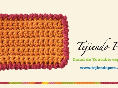 Crochet: punto cangrejo