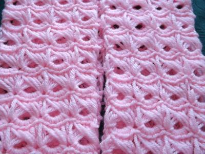 Crochet Punto Palo de Escoba Parte 1