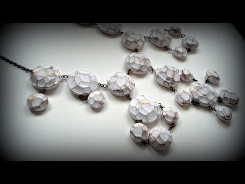 Cuentas facetadas en arcilla polimérica - Polymer clay faceted beads