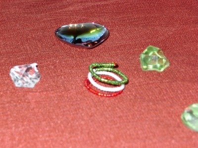 DIY  Cómo hacer un anillo enroscado, tricolor, para estas fiestas patrias.