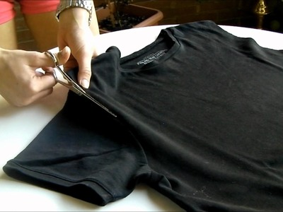 DIY: Cross T-shirt
