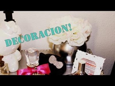 DIY Florero plateado Decoracion