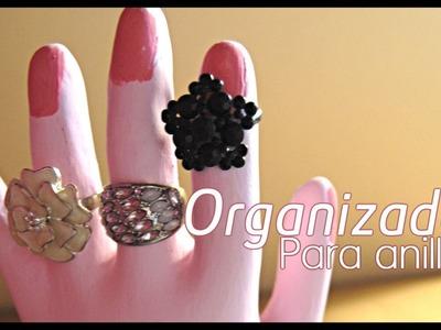 DIY. HTM : Mano organizadora para anillos. How to Organize Rings
