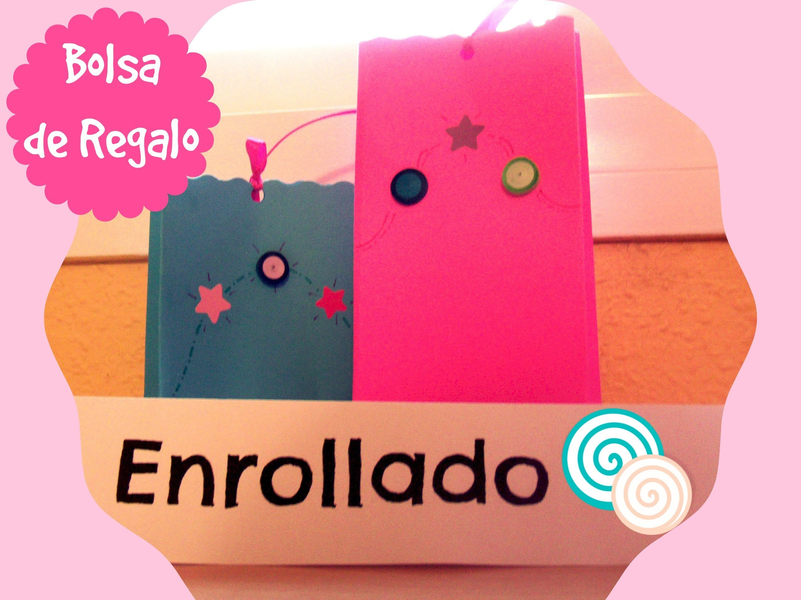 DIY-Tutorial Bolsa Regalo Papel