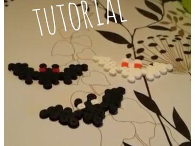 ❤ Especial Halloween: murciélagos de Hama Beads ❤