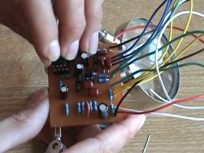 Fabricando un Pulsar Tremolo DIY