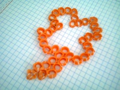 Figuras hechas con popotes (Beads. cuentas) Aprende a hacerlas! Patrick's day | con WENDILUTIPS