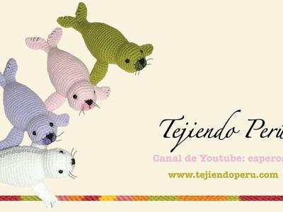 Foca tejida a crochet (amigurumi seal) Parte 2
