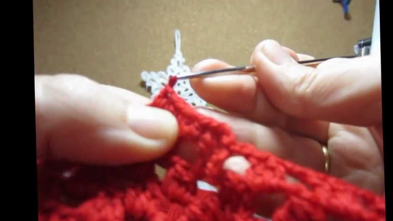 Gorro de crochet 2 parte .