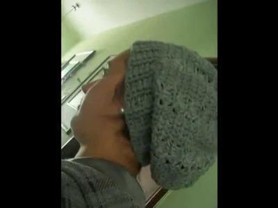 Gorros tejidos en crochet.