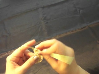 Hexagono en crochet Parte 1 de 3