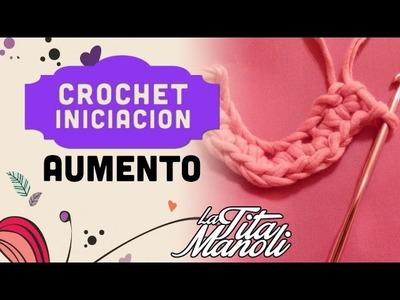 Iniciacion al crochet - Aumento
