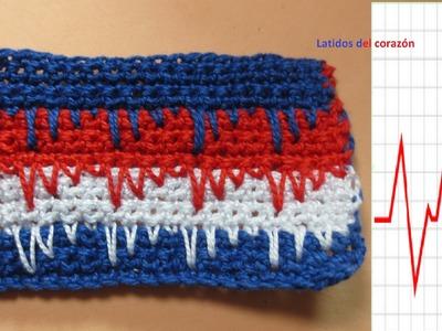 Latidos del corazón Crochet