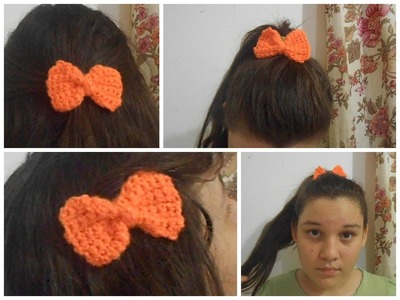 Moños a crochet - Loreniaolivas