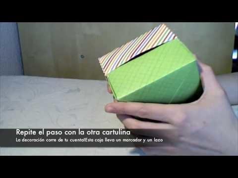 Origami box en 90 segundos!