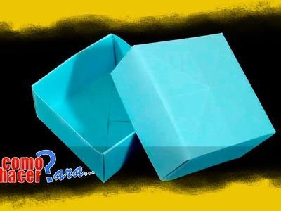 Origami: Cómo hacer una Caja de Papel