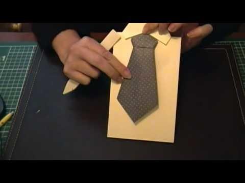 Origami Corbata y camisa.
